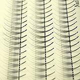 Scala 105PCS Individual Lashes Black False Eyelash Natural Long Cluster Extension Makeup Beauty Health Makeup Fake Eyelashes 8-14MM (9mm)