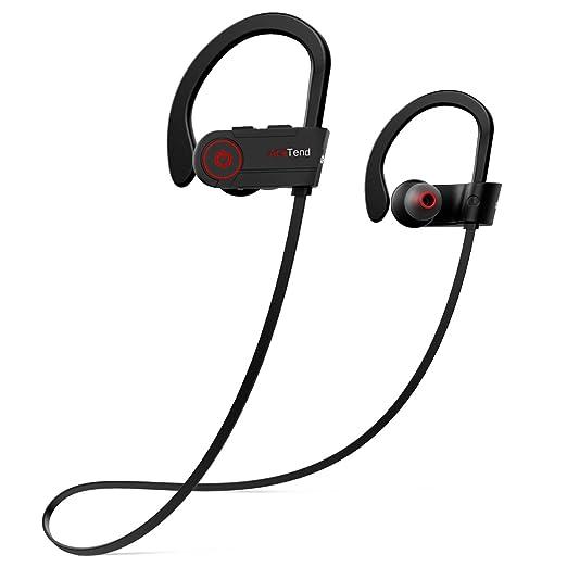 Auriculares Bluetooth, AceTend Auriculares Bluetooth V4.1 In Ear Cascos Inálambrico Deportivos (IPX7, Cancelación de ruido CVC 6.0, Micrófono Incorporado, ...