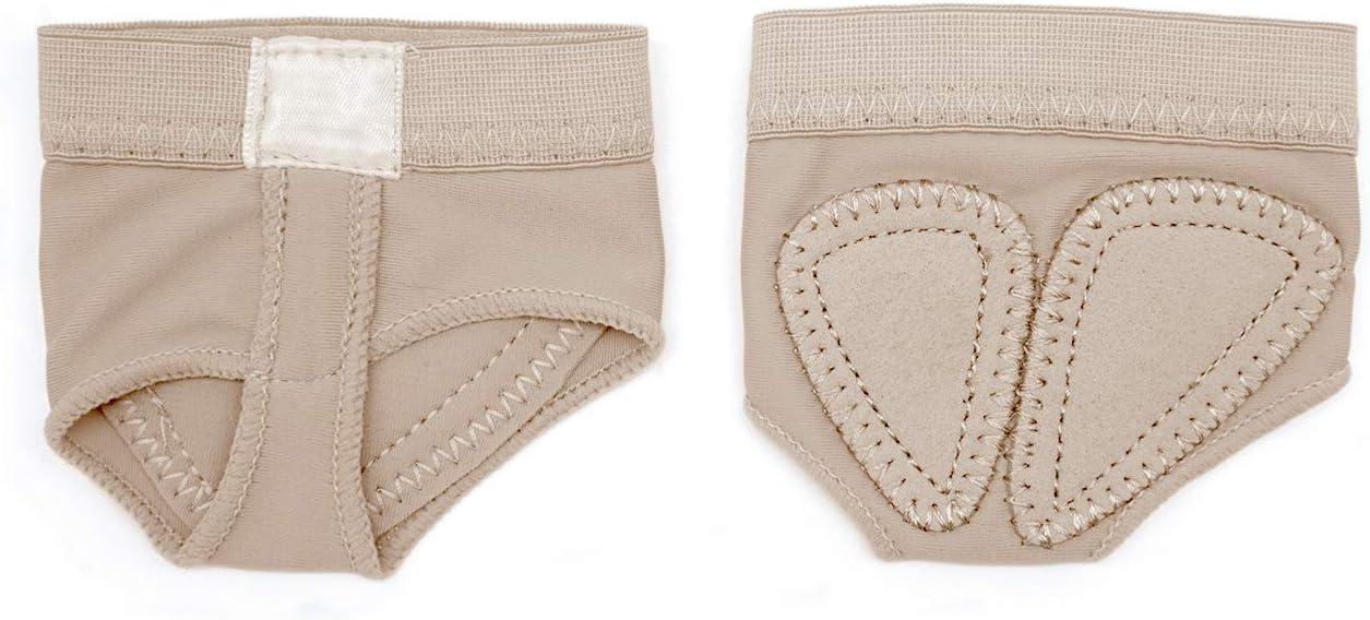 5 Sizes 1 Pair//2 Pairs Pack DANCEYOU Dance Foot Thongs Adult Ballet Dance Wear Nude Lyrical Shoes
