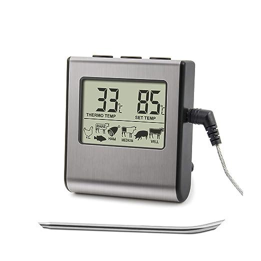Valerie- Baker grill thermometers Termómetro Digital para Horno ...