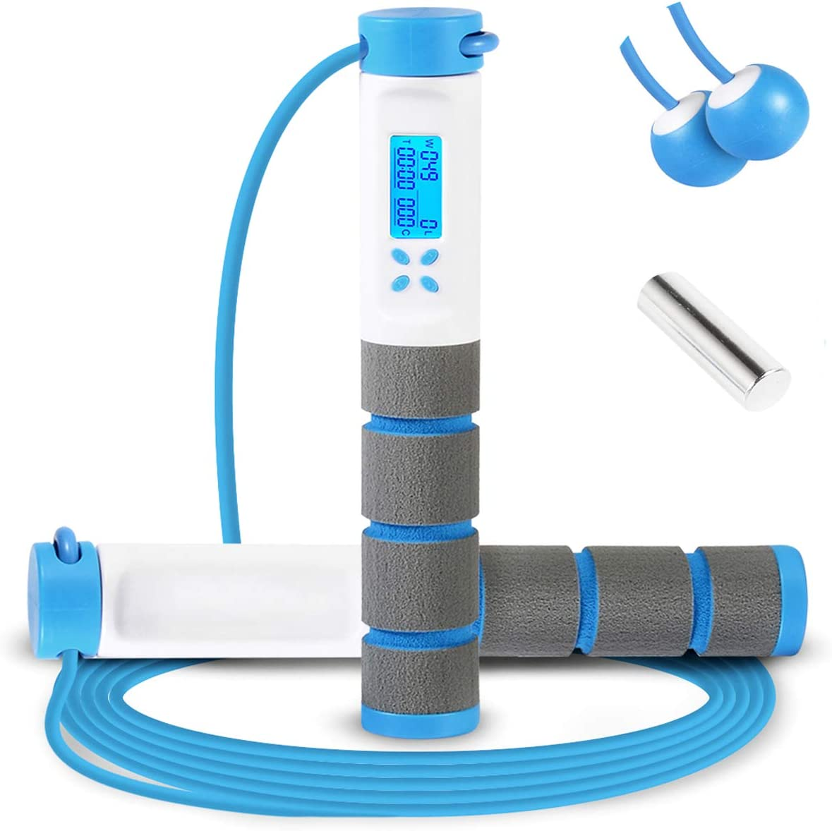 Adult Skipping Rope Fitness Jumping Weight Loss Exercise Gym Home Training ge*