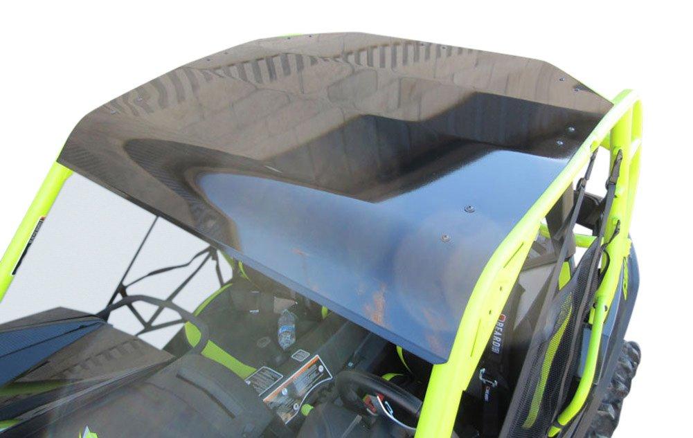 Turnkey UTV Can-Am Commander and Maverick Aluminum Sport Roof -2014+ (Metallic Black)