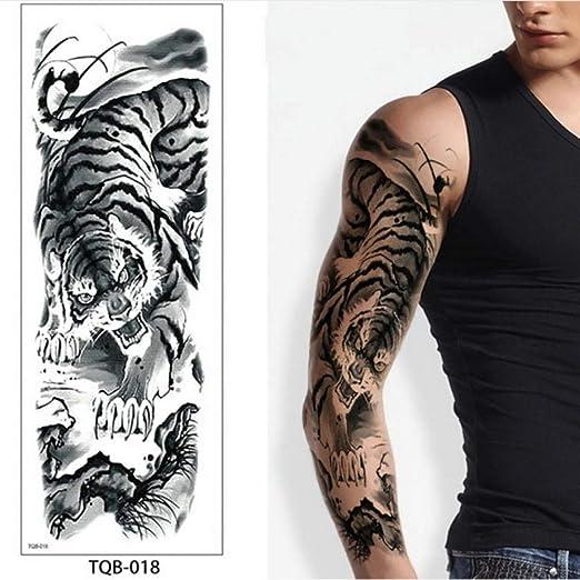 adgkitb 3 Piezas Tatuajes temporales para Hombres Robot Brazo ...