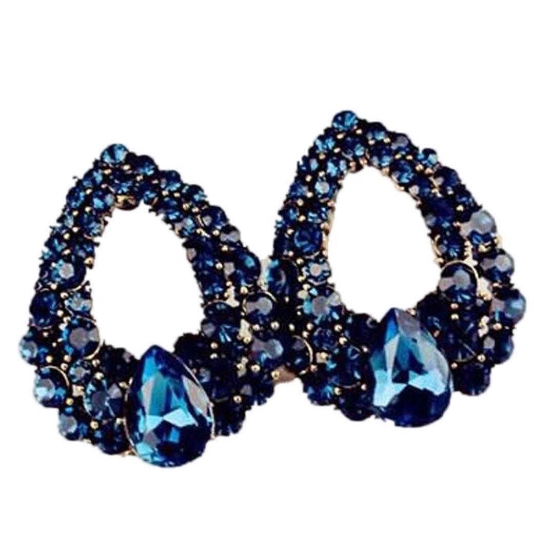 Alixyz Wedding Earrings Jewelry Bohemia Style Rhinestone Earrings Anniversary Day Gift