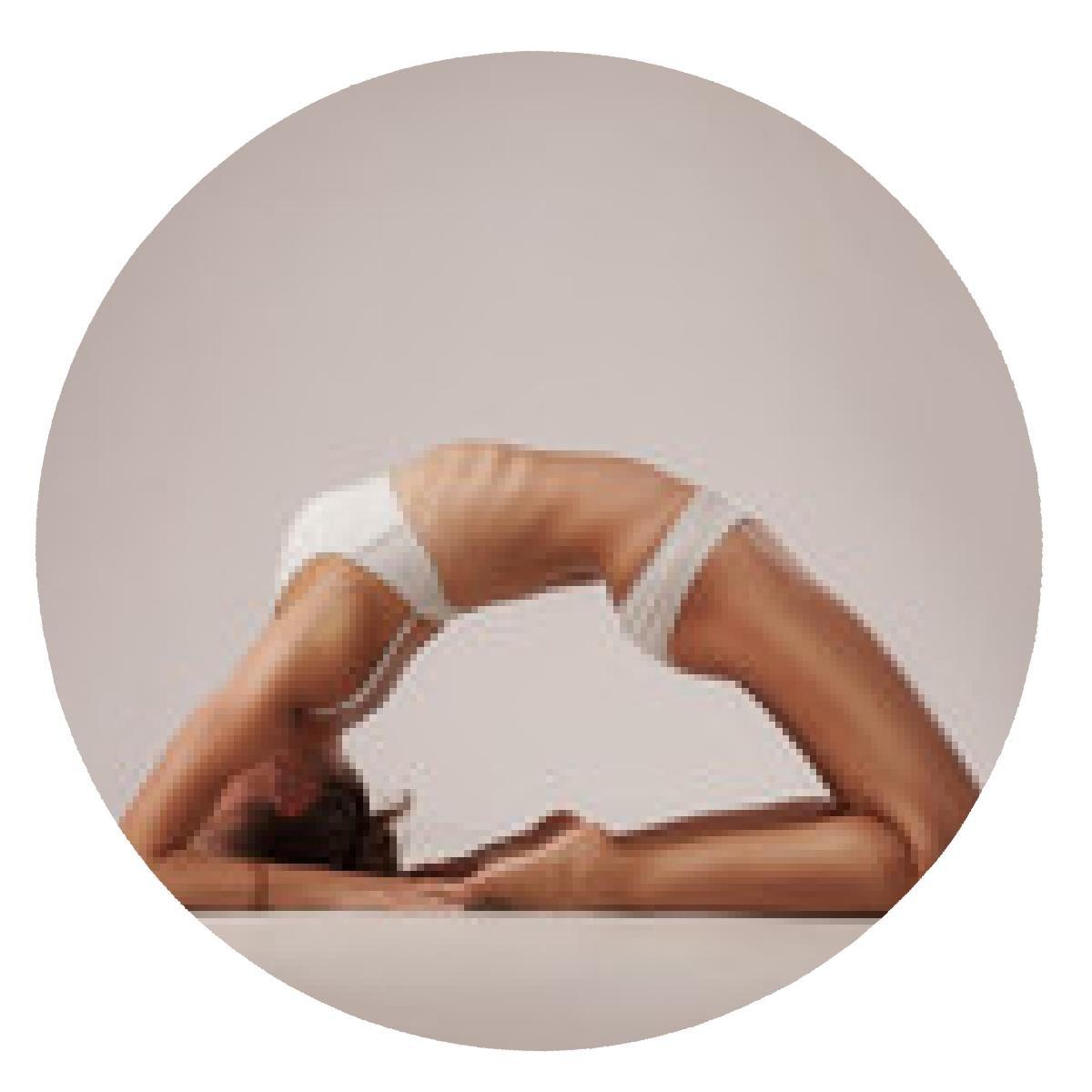 alfombrilla de ratón mujer latina sana hacer yoga: Amazon.es ...