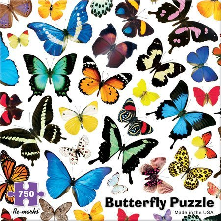 750 Piece Butterfly Puzzle