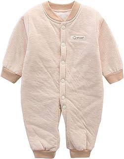 Black Temptation Salopette a maniche lunghe per neonato Pagliaccetto per neonati caldo in cotone
