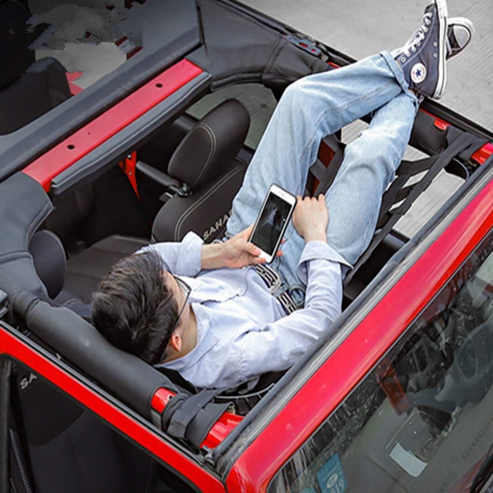 46cm TONGXU Rete da Carico Elastica per Auto Amaca Impermeabile per Jeep Wrangler 170 Amaca per Tettuccio Auto per Viaggio