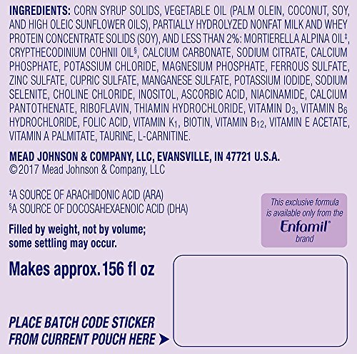 Enfamil PREMIUM Non-GMO Gentlease Infant Formula, Powder, 118.1 Ounce by Enfamil (Image #11)