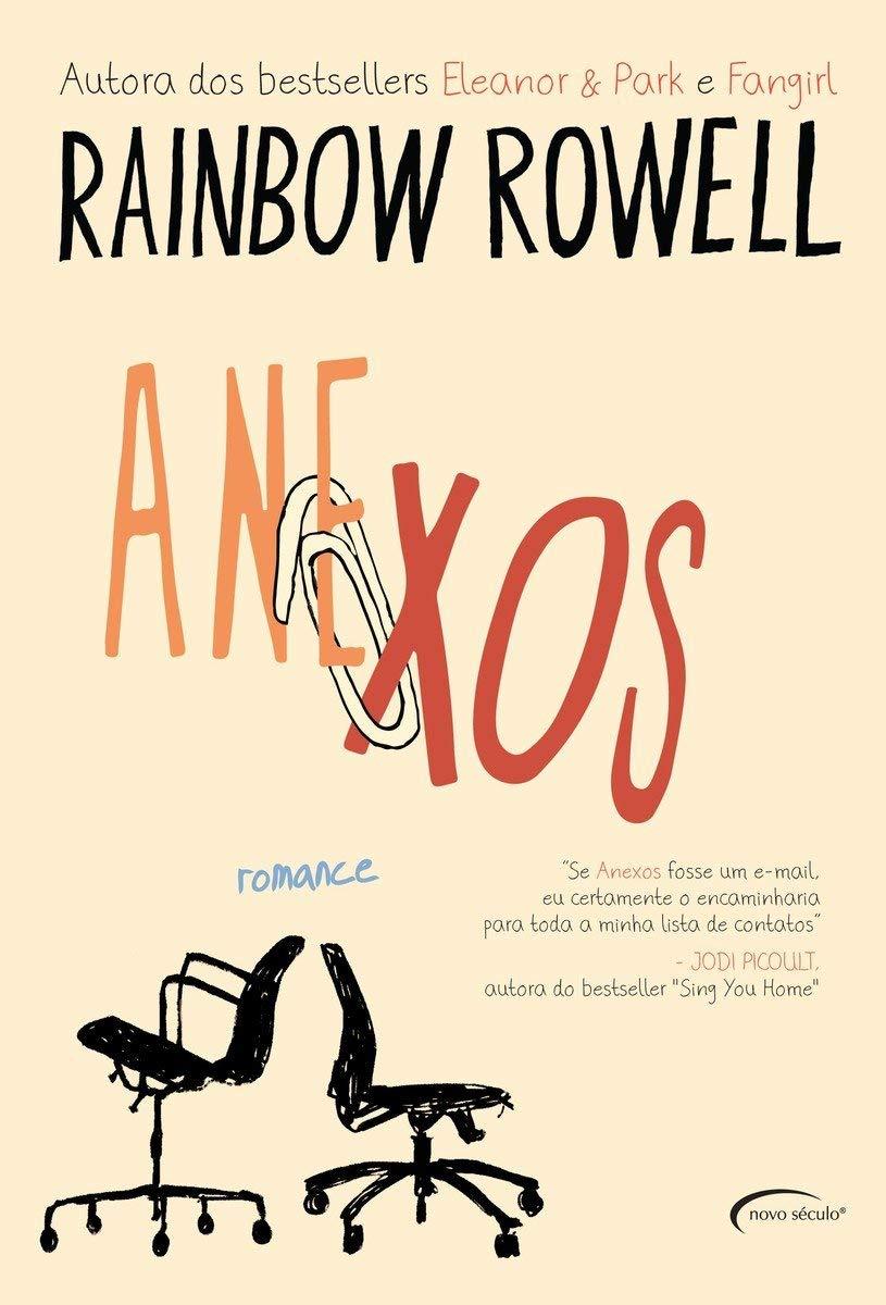 livro Anexos, de Rainbow Rowell.