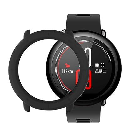 SIKAI CASE Protector Funda Compatible con Huami Amazfit Pace Smart Watch Anti-Arañazos Ligero PC Moda Slim Colorido Marco Caso Cover Parachoques ...