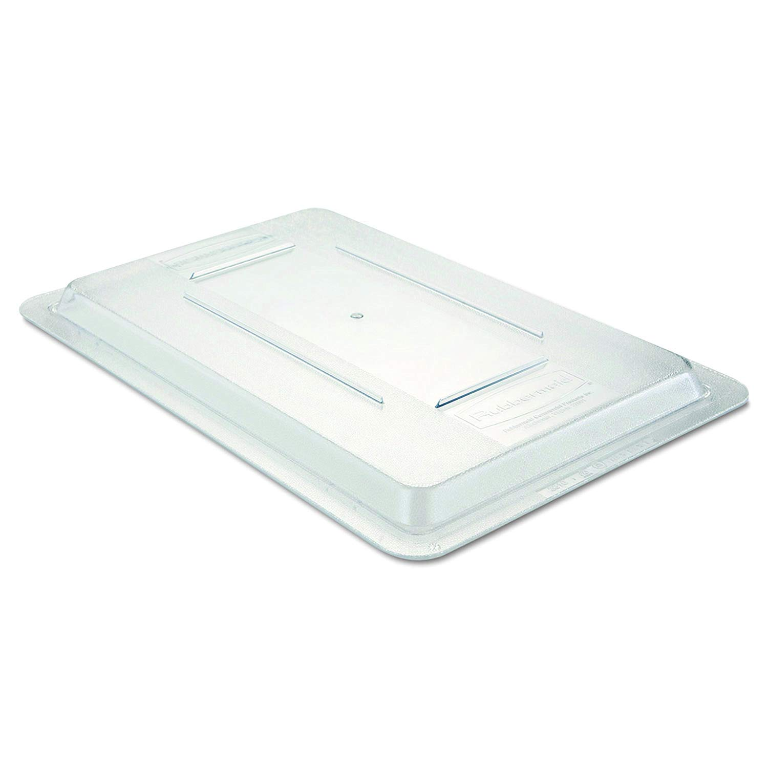 3310CLE Food/Tote Box Lids, 12w x 18d, Clear by Rubbermaid Commercial Products