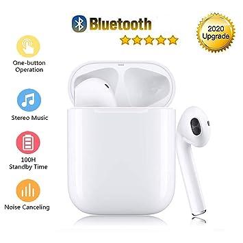 Auriculares inalámbricos Bluetooth 5.0, auriculares inalámbricos ...