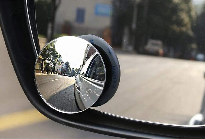 konvexer R/ückspiegel f/ür Autos f/ür universelle Autos wasserdicht JSDOIN Spiegel f/ür tote Winkel 2 St/ück 360 /° drehbar BeskooHome