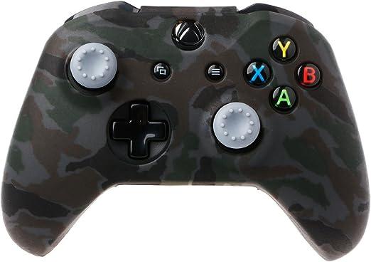 JENOR - Funda de silicona para mando de Xbox One X S (incluye 2 ...