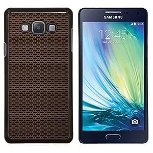TECHCASE---Cubierta de la caja de protección para la piel dura ** Samsung Galaxy A7 ( A7000 ) ** --Simple textura