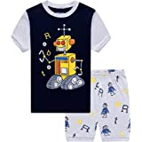 Little Hand Kids Pajama Shorts Pajamas for Boys Nightwear Set Summer Clothes Outfit 2T-7T
