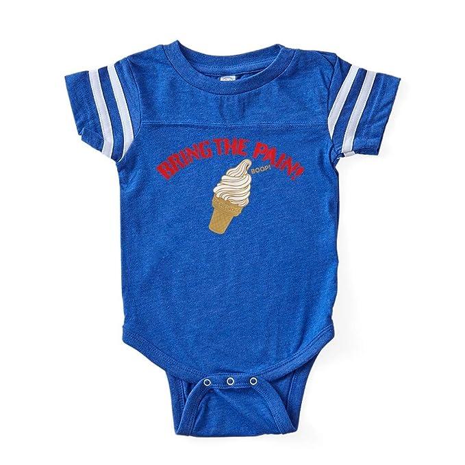Amazon Com Cafepress Ice Cream Boop The Goldbergs Baby Football