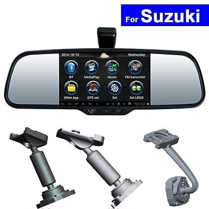 szss-car HD espejo retrovisor del coche DVR GPS Bluetooth WIFI ...