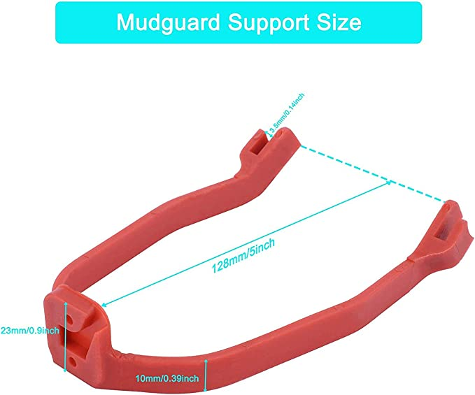 For Xiaomi M365 Scooter Rear Fender Mudguard Support Bracket Red new Black X4N9