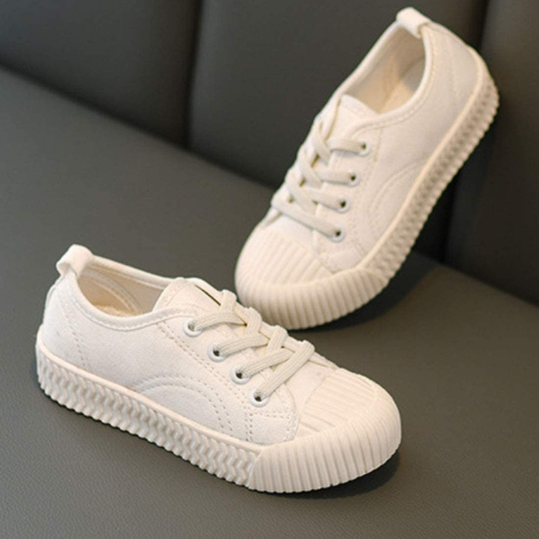 Daclay Kids Shoes Biscuit Shoes Girl Canvas Shoes 2019 Spring and Autumn New Boys Shoes Kindergarten Shoes