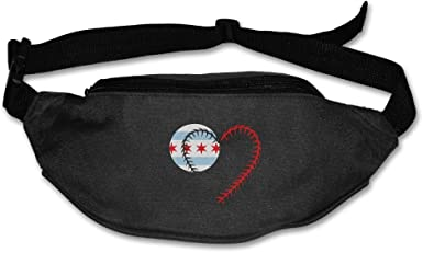 Chicago Flag Sport Waist Pack Fanny Pack Adjustable For Travel