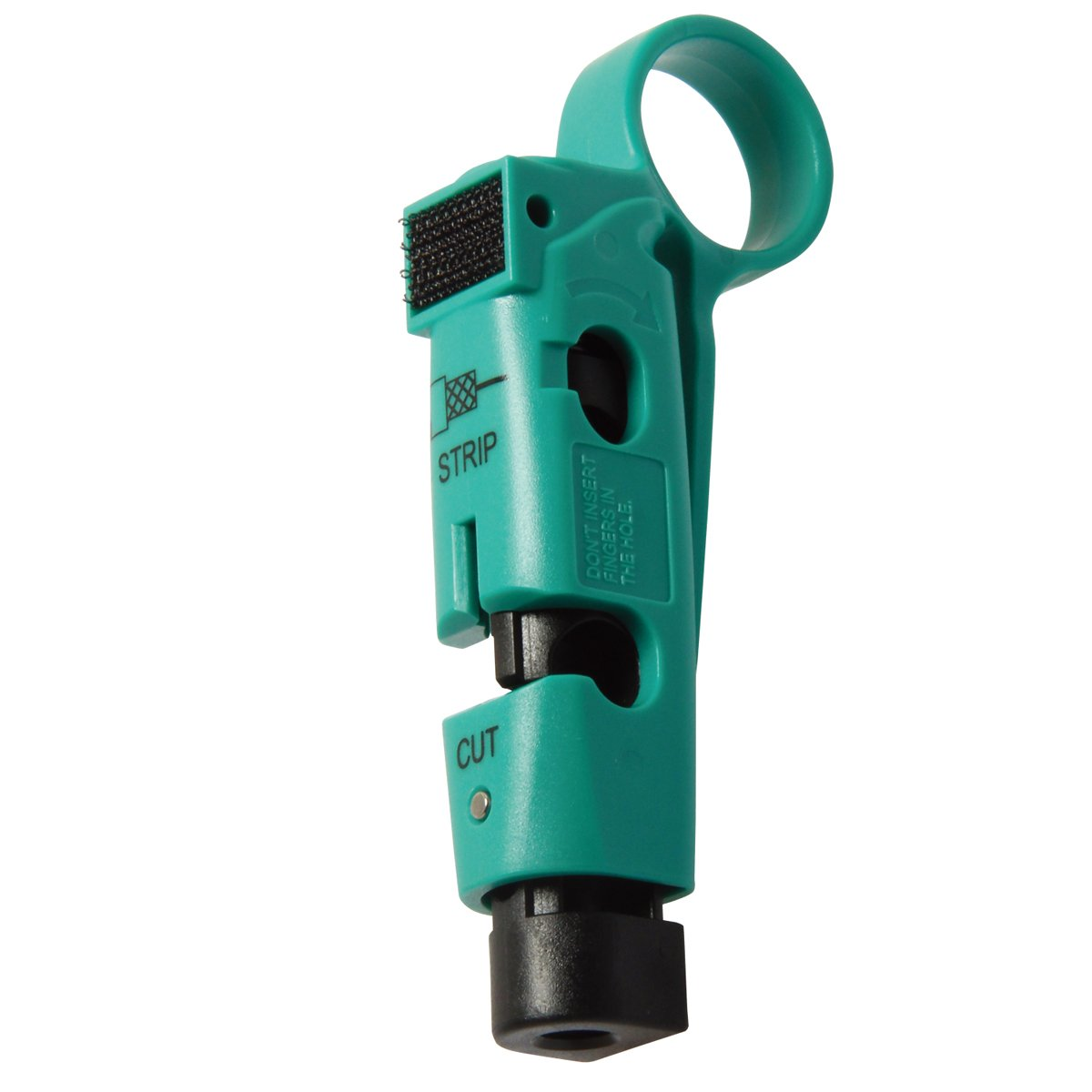 CP-507 Coaxial Cable Stripper/Cutter for RG-59, RG-6 Coaxial Cable Wire Stripper Tool 111mm Length by Tpmall (Image #2)