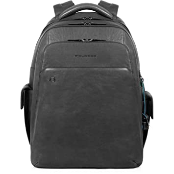 Piquadro BagMotic Business Mochila piel 43 cm compartimento Laptop: Amazon.es: Equipaje