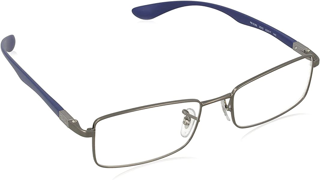 6708043d0ca95 Amazon.com  Ray Ban RX6286 Tech Liteforce Eyeglasses-2502 Gunmetal-52mm   Shoes