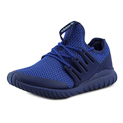 Adidas - Boys Tubular Radial Sneakers, Blue  Collegiate Royal  Columbia  Blue, 5