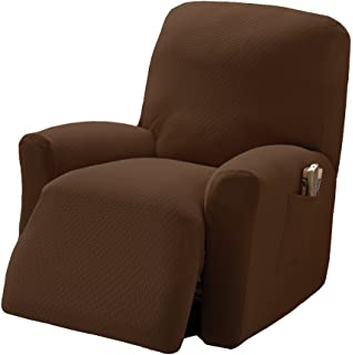 """JERSEY RECLINER COVER----LAZY BOY-----COBALT----/""""STRETCHES/"""" -FITS MOST CHAIRS"""