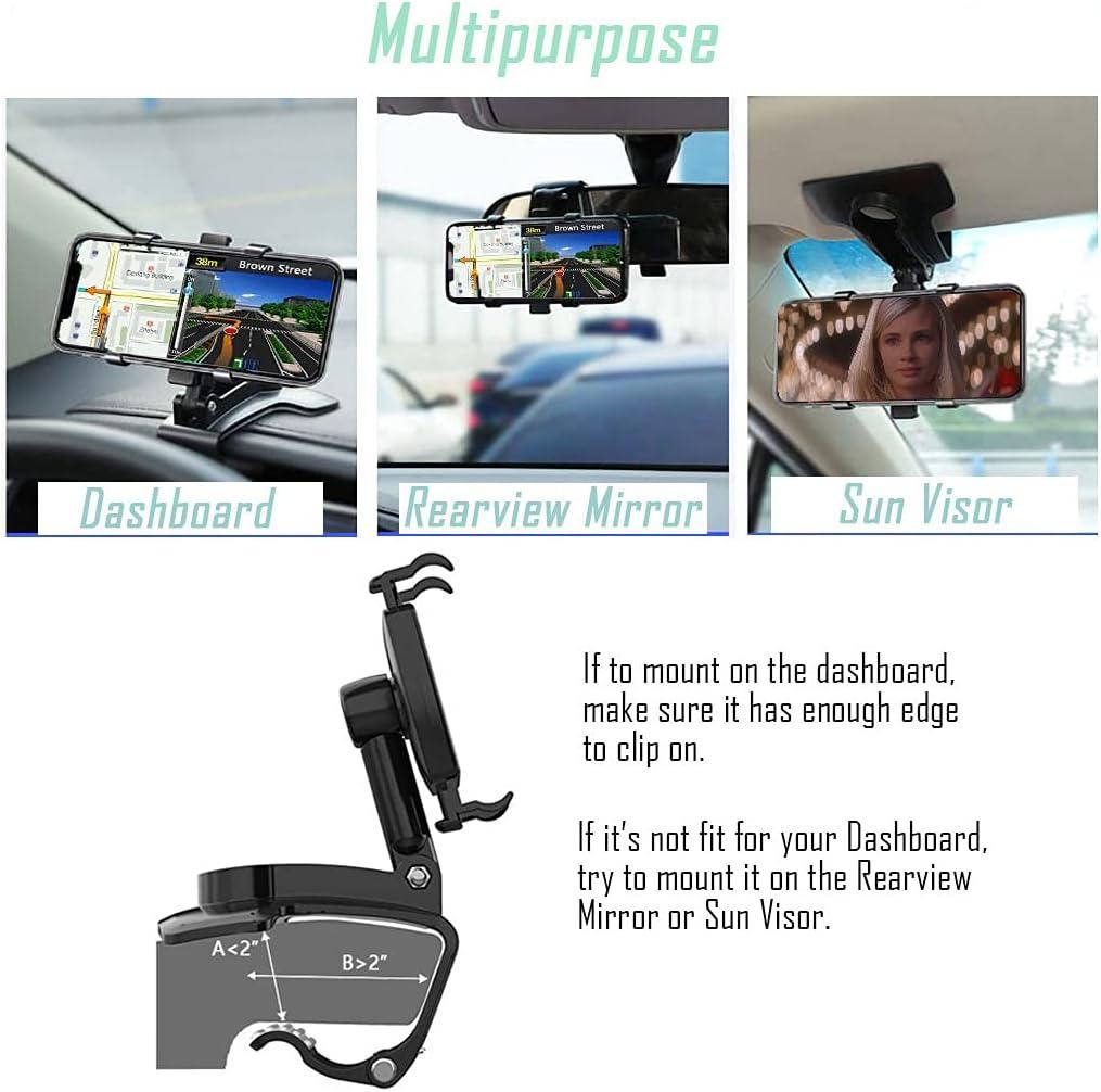 multi-purpose dashboard clip holder