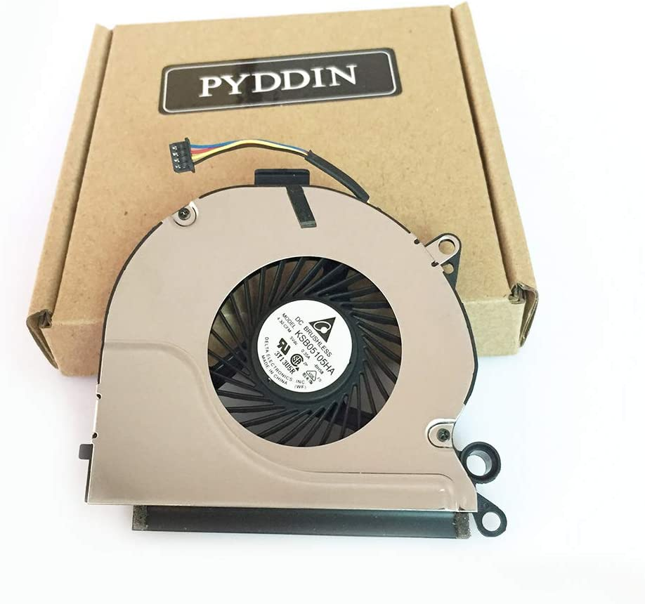 PYDDIN Laptop CPU Cooling Fan Cooler for Dell Latitude E6230, P/N: 095V9H 95V9H