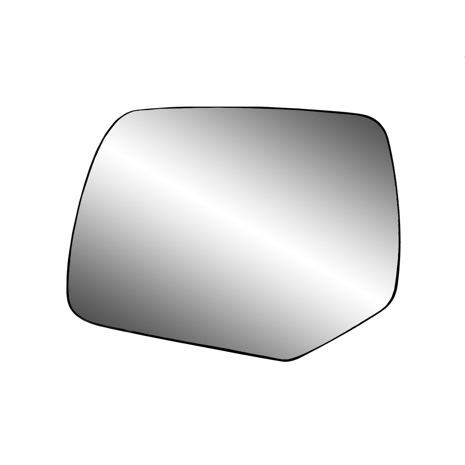 Fit System 30212 Ford/Mercury Right Side Heated Power Replacement Mirror Glass with Backing Plate