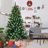 Apontus 5' Artificial Christmas Tree w/Solid Metal Legs