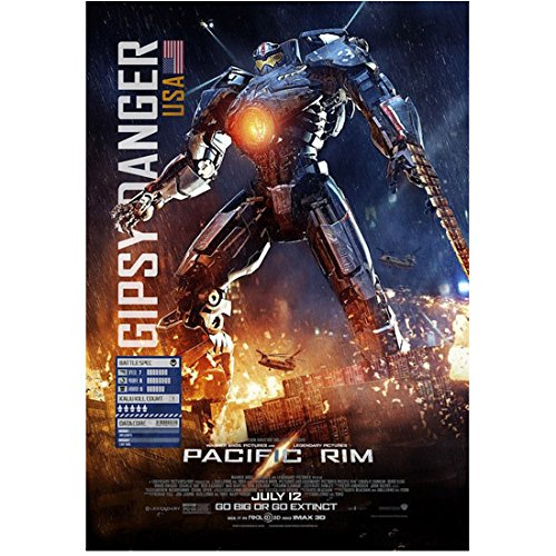 "Pacific Rim (2013) 8x10 Photo Movie Poster ""Gipsy Danger for sale  Delivered anywhere in USA"