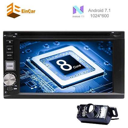 Amazon com: EinCar Upgrade Android 7 1 Car Radio 2 Din in Dash GPS