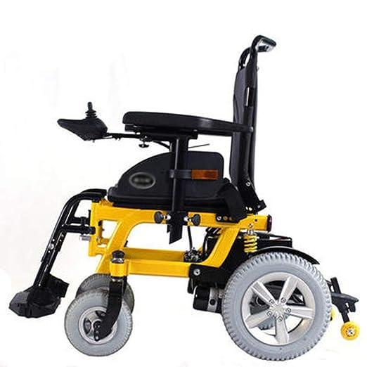 BEI-YI - Silla de Ruedas eléctrica con discapacidades, Silla ...