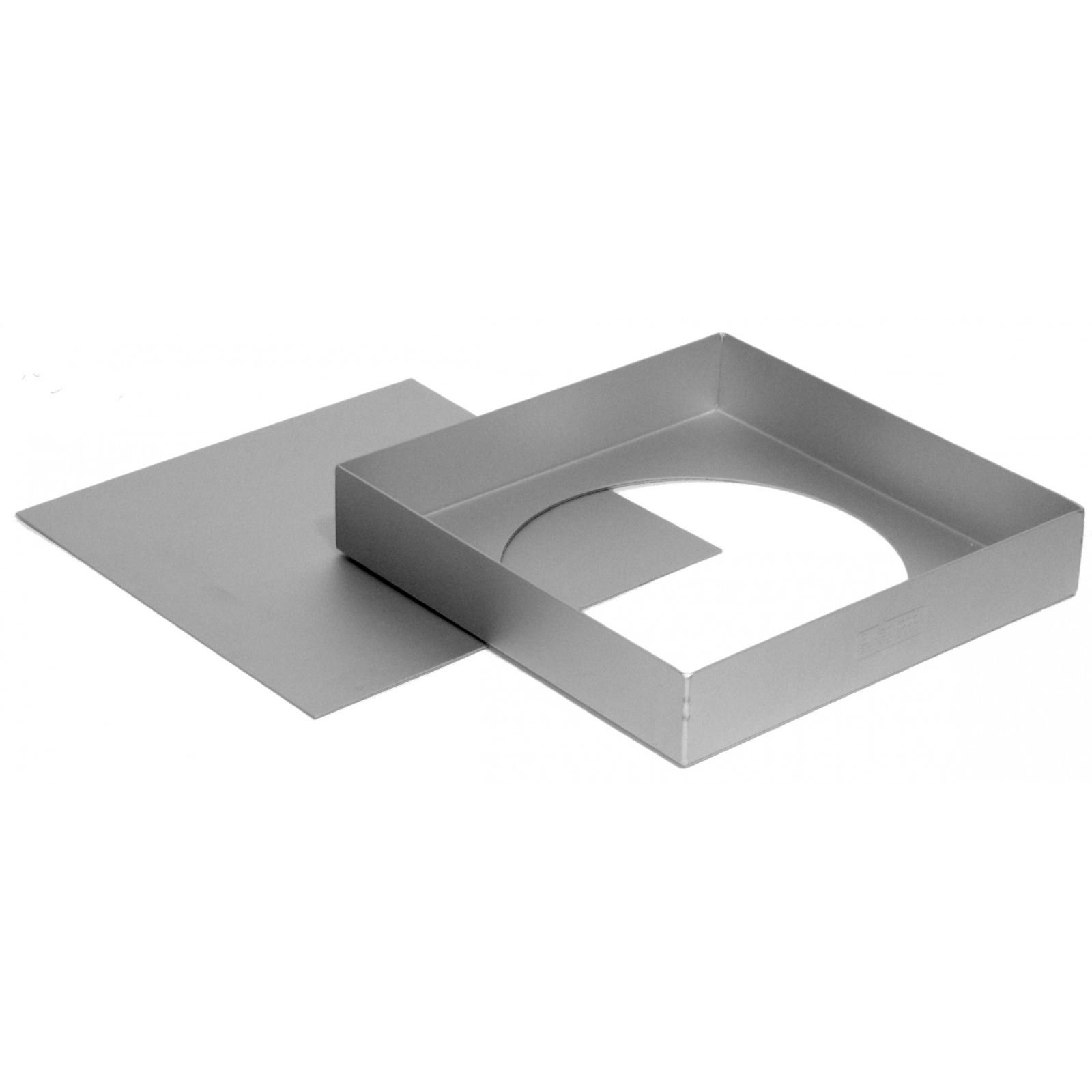 Silverwood Square Sandwich Pan - Loose Based 9'' x 1½'' (Pack of 4)