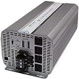 AIMS 8000 Watt / 16,000 Watt Peak Power Inverter, Digital Meters, AC Terminal Block, Optional Remote 66 Amps (8kW)
