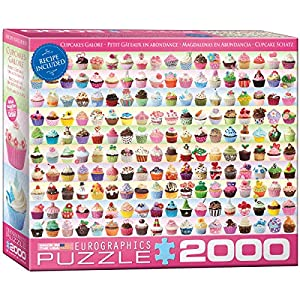 Eurographics Cupcakes Galore Puzzle 2000 Pezzi