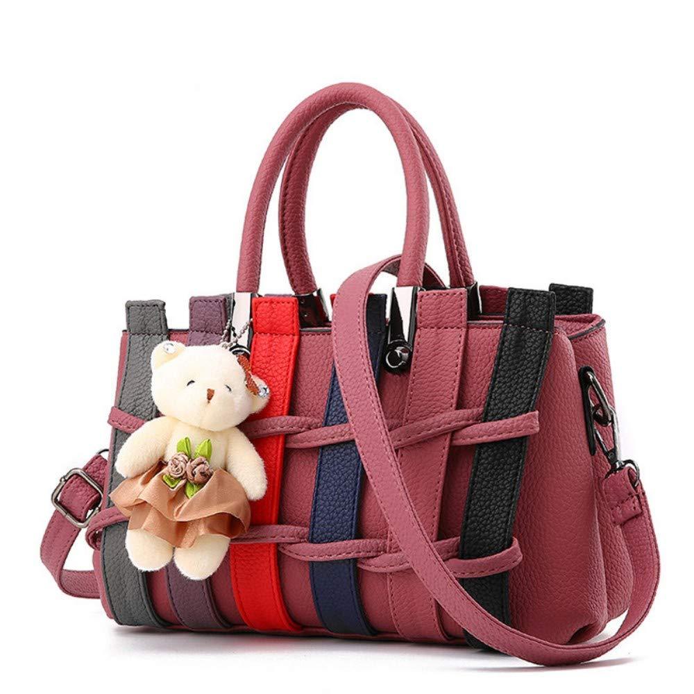 XUZISHAN Frauen Tasche Damen Leder Handtasche Weibliche Weibliche Weibliche Süße Mode Handtaschen Messenger Bag Schultertasche B07Q2WRVBQ Damenhandtaschen Elegante und robuste Verpackung f56960