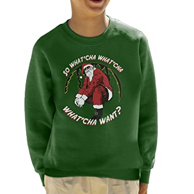 56101aed8 Beastie Boys Santa Christmas Kid's Sweatshirt: Amazon.co.uk: Clothing