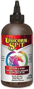 Unicorn SPiT 5771012 Gel Stain & Glaze, Rustic Reality, 8 Ounce Bottle, Assorted