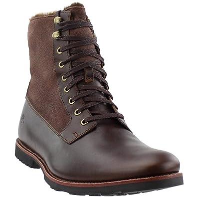 Timberland Kendrick Lined Lace Up Boots Black: Amazon.co.uk