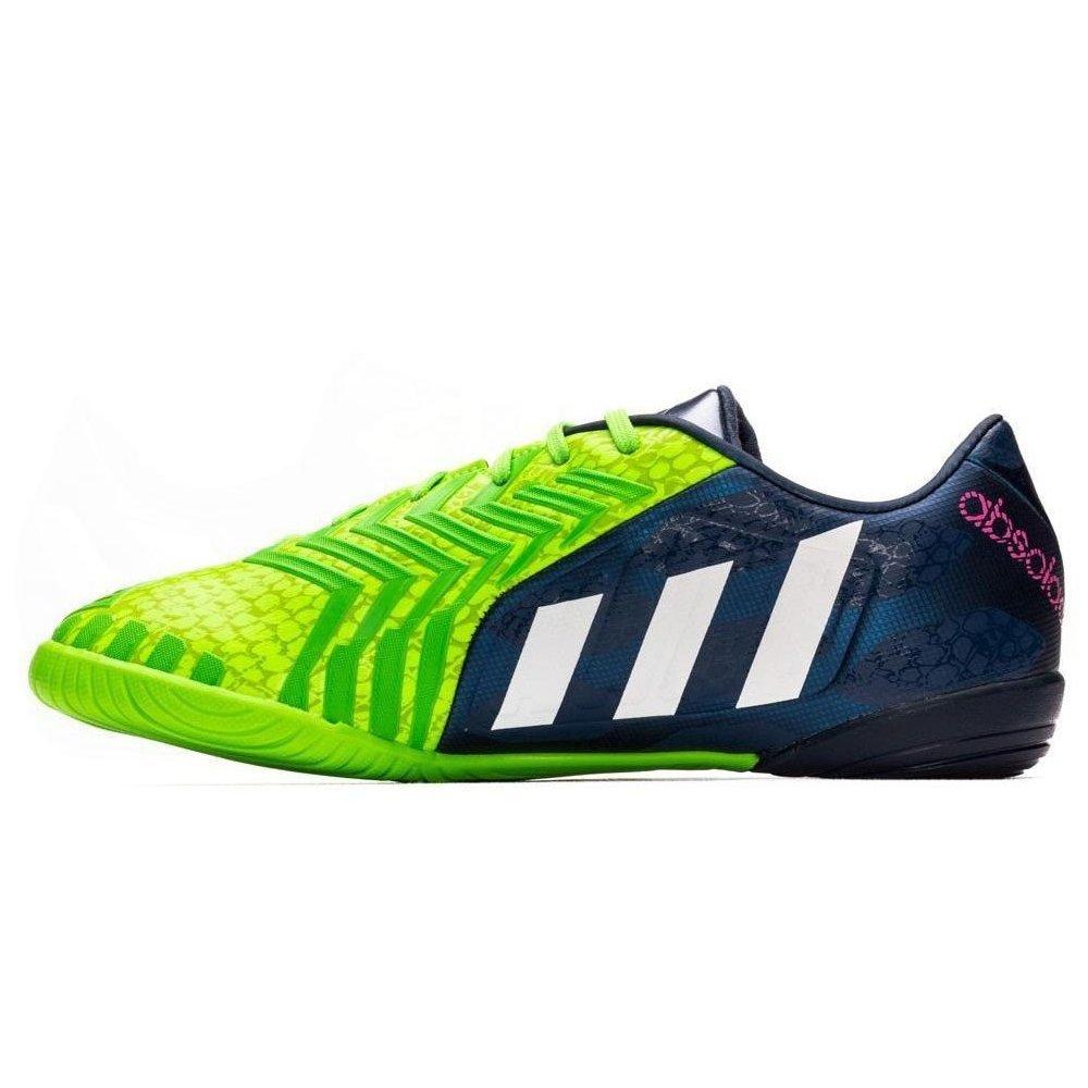 Adidas Protator Absolado Instinct IN Rich Blau Blau Blau Weiß Solar Grün M20135 Fußballschuhe Hallenschuhe Indoor 30a523