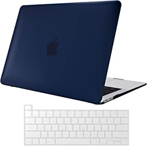 ProCase MacBook Pro 13 Case 2020 Release A2289 A2251, Hard Case Shell Cover and Keyboard Skin Cover for New MacBook Pro 13 Inch Model A2289 A2251 -Darkblue