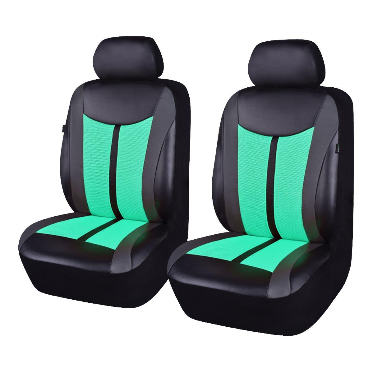 Flying Banner pelle e mesh traspirante universale set di coprisedili per auto con airbag compatibile Ningbo Qiyang International Trade Co. Ltd