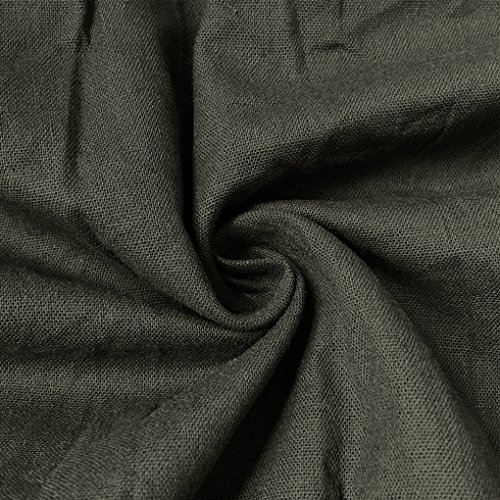 Elegante Dress Chic Tunique Mode Gris t Grande Sans Maxi Minetom Manches Longue Longue Soire Femme Rond T Taille Col Loose Plage Robe Shirt MW1cM7nAO