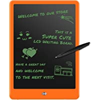 LCD Writing Tablet, MWAY 10 Inch LCD Drawing Board/ Message Board/ Screen Handwriting Pad Paperless Drawing Writing Tool Graffiti Board with Stylus and Stand for Kids, Family Memo